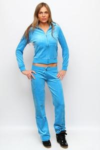 Велюровый костюм Juicy Couture c капюшоном